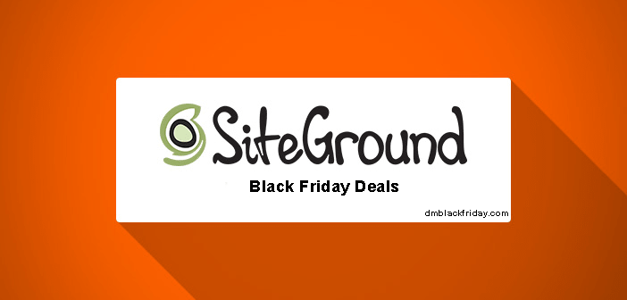 Siteground Black friday deals